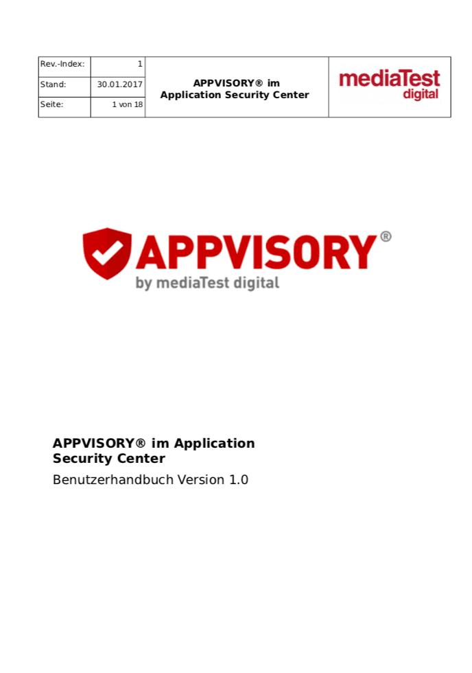 ASC-Benutzerhandbuch