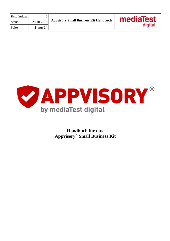AppvisorySmallBusinessKit_Handbuch_v2