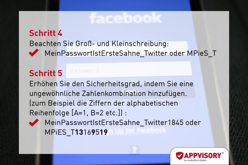 Passwort-Tipp 3 Appvisory