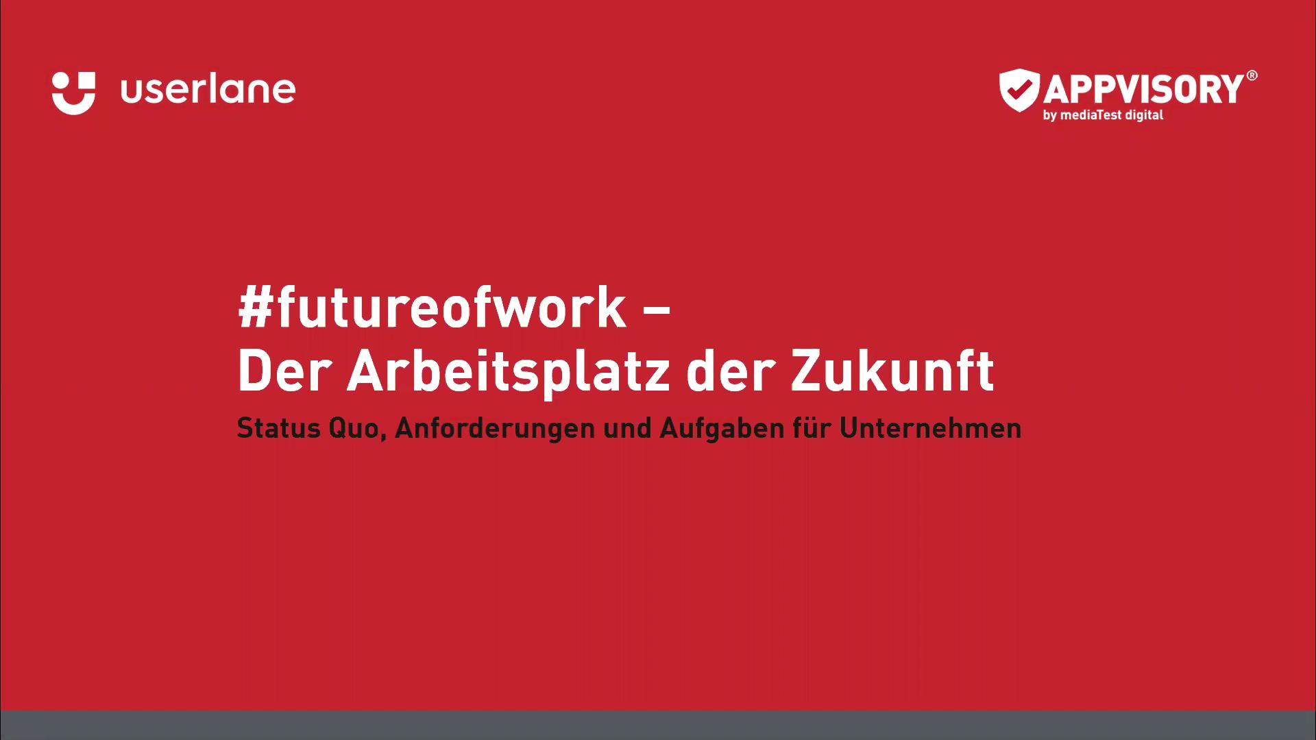 APPVISORY Userlane futureofwork Webinar