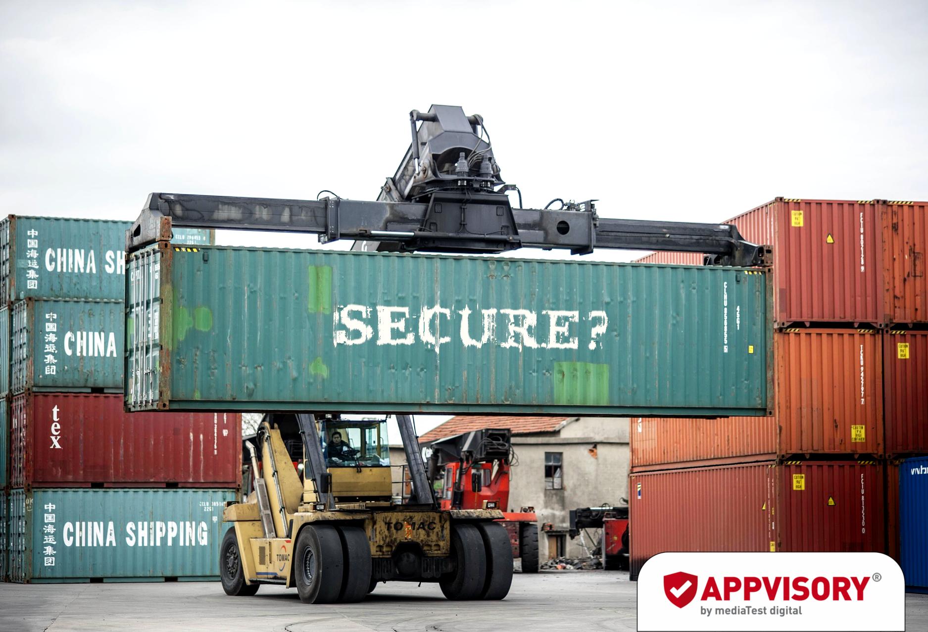 Container-Lösung reicht nicht aus