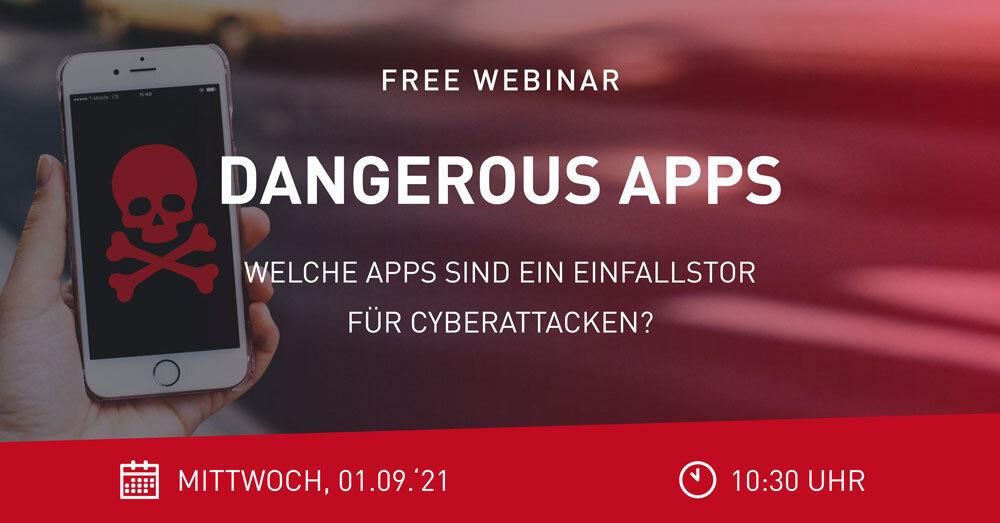 Webinar Dangerous Apps